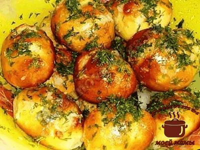 Пампушки из картошечки с творогом