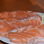Рыба красная соленая