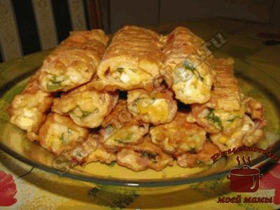 крабовые палочки фаршированные в кляре рецепт с фото
