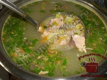 как сварить суп из рыбной консервы