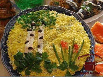 Украшение блюд, салаты