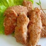 Курица в геркулесе