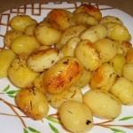 Картофель запеченный в пакете