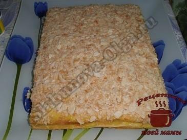 Слоеный торт с грибами