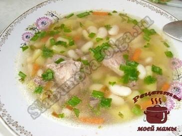 рецепты супов с фото простые и вкусные с фасолью