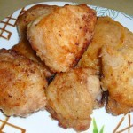 Курица жаренная