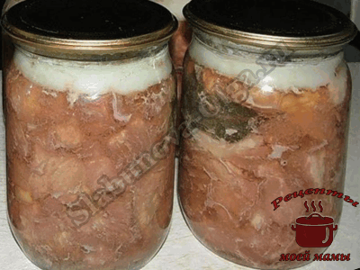 рецепт тушенки из свинины и говядины вместе в кастрюле