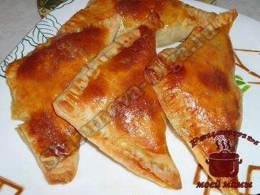 слоеные пирожки