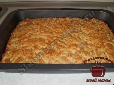 Вкусный яблочный пирог, запекаем в духовке