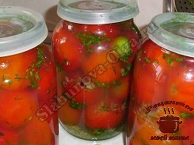 маринованные помидоры в особом маринаде