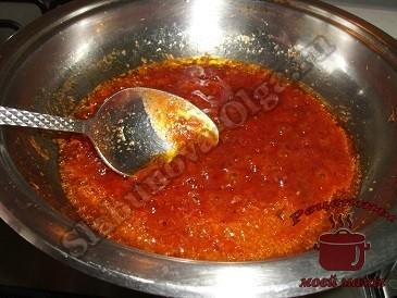 Маринованная скумбрия в острой заливке, готовим соус