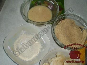 Цветная капуста с сыром, , готовим шубку