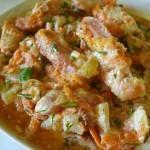 Сочная куриная грудка в сметанном соусе