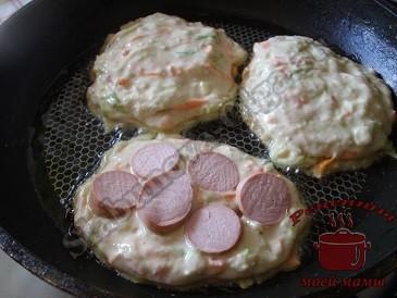 Оладьи из кабачков, готовим тесто