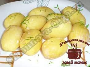 Молодой-картофель-с-укропом-и-чесноком