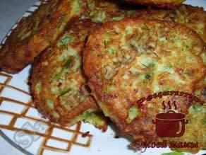 Оладьи-из-кабачков-с-сыром