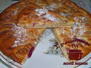 Яблочный-пирог-на-кефире