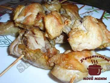 Шашлык-из-курицы-в-духовке