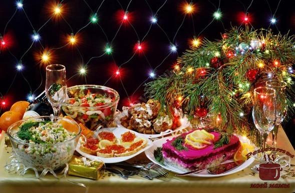 Рецепты блюд на праздничный стол