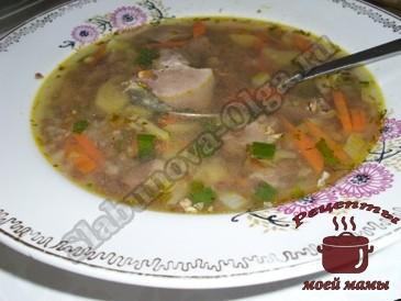 Гречневый-суп