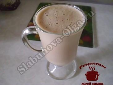 Крепкий сырный кофе готов