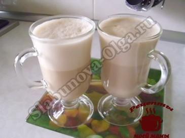 Сырный кофе готов