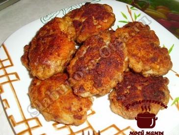 Котлеты куриные с манкой рецепт с пошагово в домашних условиях