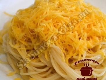 Готовим макароны с сыром