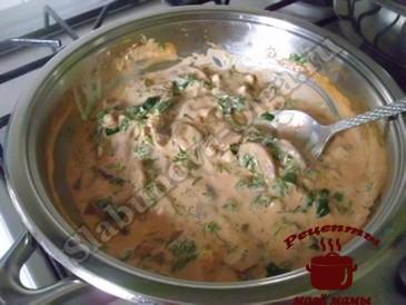 Куриные бедрышки, готовим соус