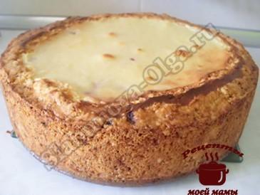 Песочный пирог с ягодами готов