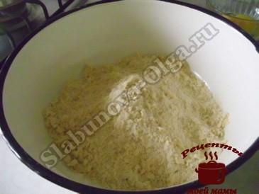 Вишневый пирог, готовим тесто