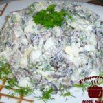 Салат из баклажанов готов