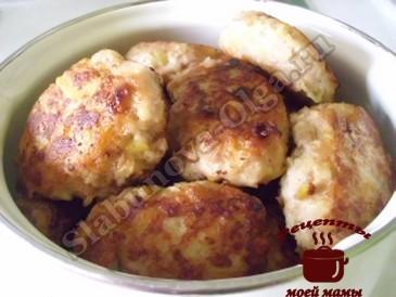 Вкусные котлеты из фарша и картофеля готовы