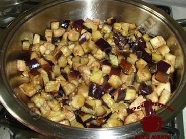 Баклажаны в чесночном соусе