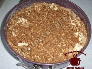 Яблочный пирог с корицей, последний слой