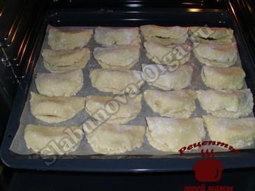 Печенье с яблоками, выпекаем