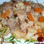 Мясо с цветной капустой