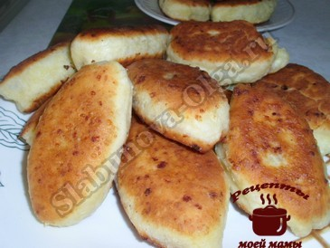 Творожные пирожки готовы
