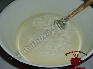 Жареные пирожки, готовим тесто