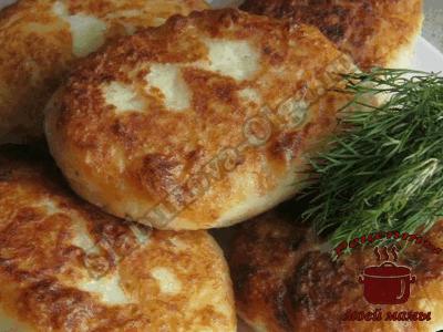 Котлеты картофельные с мясом