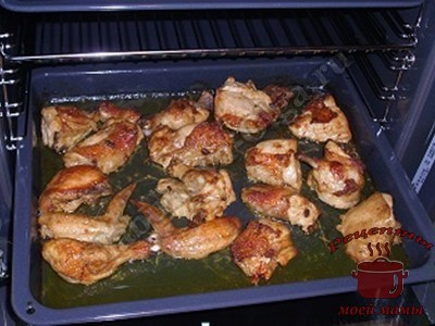 Курица запеченая в духовке