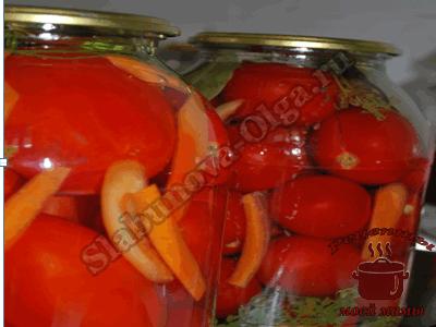 Вкусные маринованные помидоры
