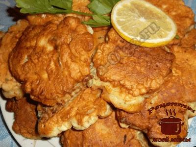 Рыба жаренная в кляре