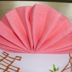 Как красиво сложить салфетки