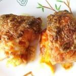 Куриные бедрышки с сыром