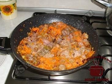 Простое блюдо из картошки. Картошка с тушенкой