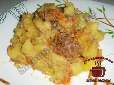 Простое блюдо из картошки