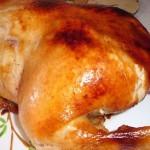 Курица запеченная целиком