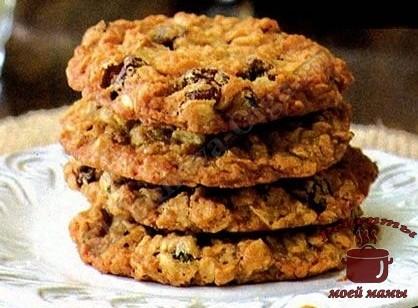 Овсяное печенье быстрого приготовления, без выпечки