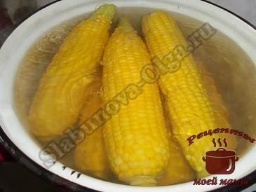 Кукуруза консервированная, бланшеруем